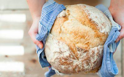 A Obra de Arte do Padeiro no Pão